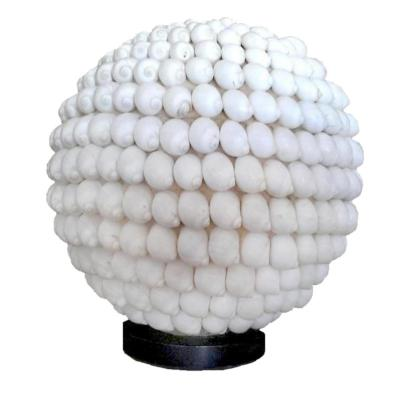 Lampe Bagus en coquillages ronds - M