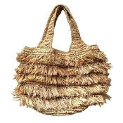 Sac Bettina en raphia naturel